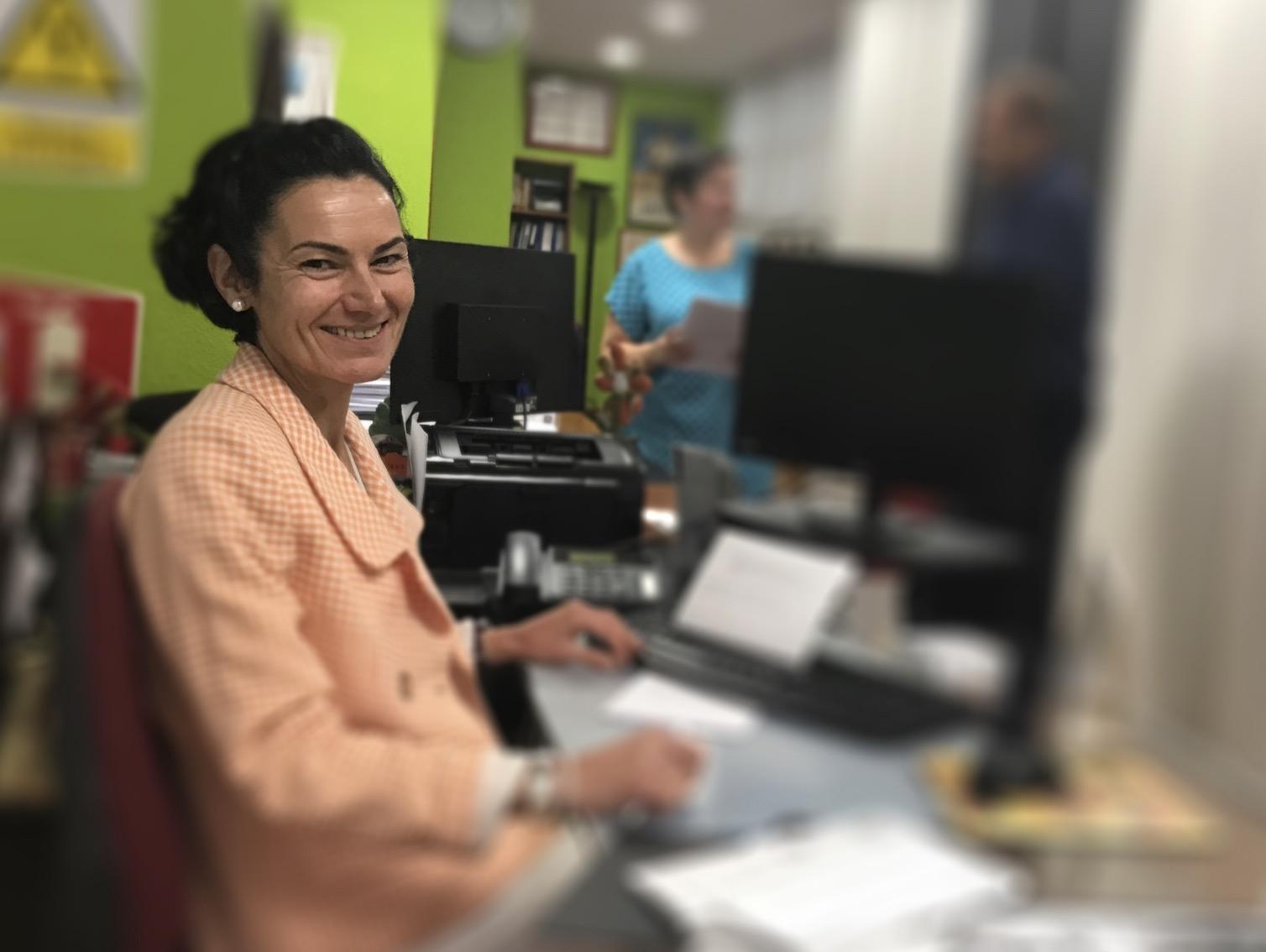 Pilar Nevot, licenciada en Derecho