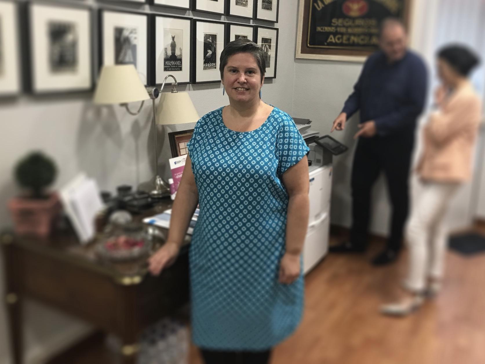Deborah Esteban Pantoja, Mediadora de Seguros